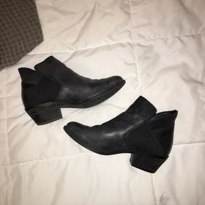 MeToo Leather Boots